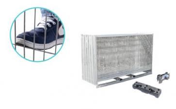 Byggegjerde Standard Anti-klatring - Komplett pakke (105m)