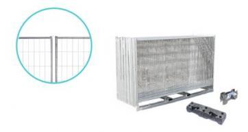 Byggegjerde Standard - Komplett pakke (105 m)