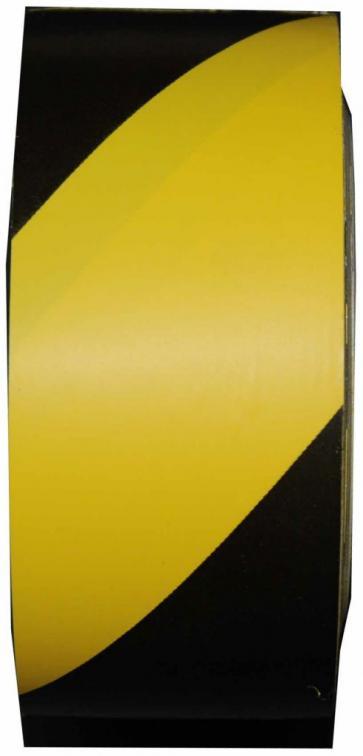 Oppmerkingstape, Gul /svart, 50 mm