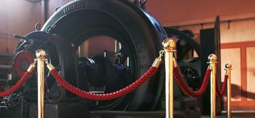 Avsperringspakke - Museum (6 stolper / 5 tau)